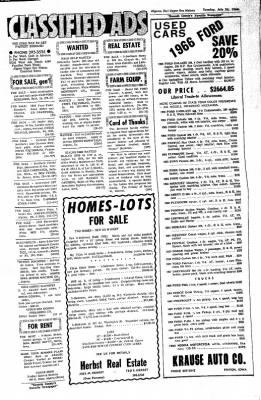 The Algona Upper Des Moines from Algona, Iowa on July 26, 1966 · Page 17