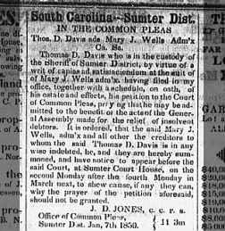 The Sumter Banner from Sumter, South Carolina on January 16