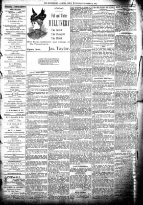 The Algona Republican from Algona, Iowa on October 16, 1895 · Page 5