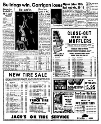 Kossuth County Advance from Algona, Iowa on January 25, 1965 · Page 4