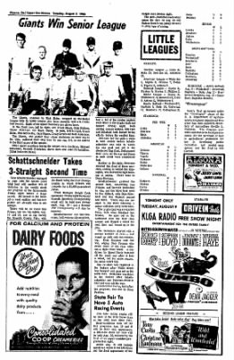 The Algona Upper Des Moines from Algona, Iowa on August 9, 1966 · Page 7