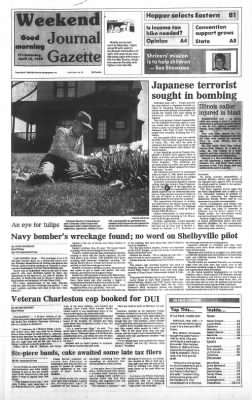 Journal Gazette from Mattoon, Illinois on April 16, 1988 · Page 1