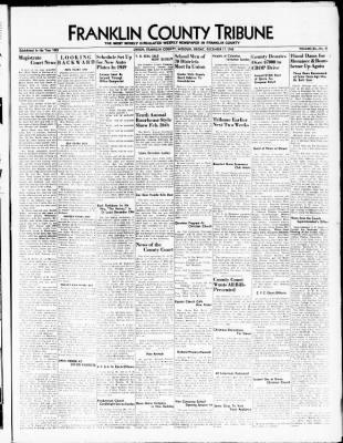 franklin county tribune from union missouri on december 17 1948 8 Passenger Vans for Rent franklin county tribune from union missouri on december 17 1948 page 1