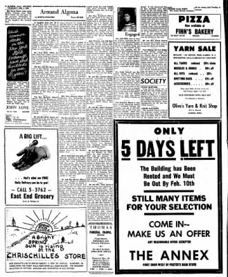 Kossuth County Advance from Algona, Iowa on February 4, 1965 · Page 8