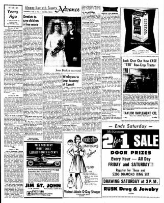 Kossuth County Advance from Algona, Iowa on February 4, 1965 · Page 9