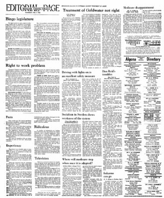Kossuth County Advance from Algona, Iowa on February 4, 1965 · Page 14
