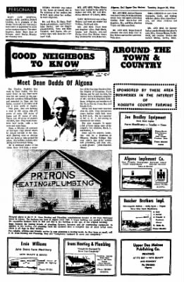 The Algona Upper Des Moines from Algona, Iowa on August 30, 1966 · Page 13