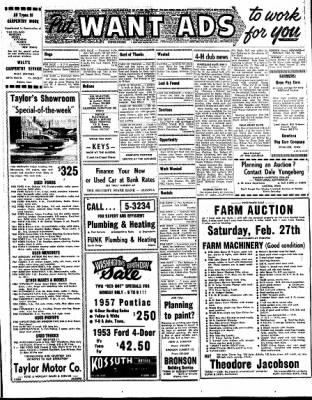 Kossuth County Advance from Algona, Iowa on February 22, 1965 · Page 5