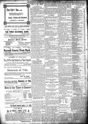 The Algona Republican from Algona, Iowa on January 15, 1896 · Page 8