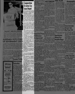 1963 Chamber Discusses Tax Issue