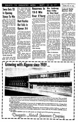 The Algona Upper Des Moines from Algona, Iowa on September 13, 1966 · Page 6