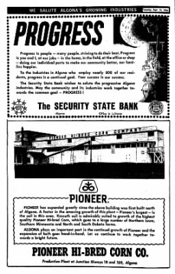 The Algona Upper Des Moines from Algona, Iowa on September 13, 1966 · Page 8