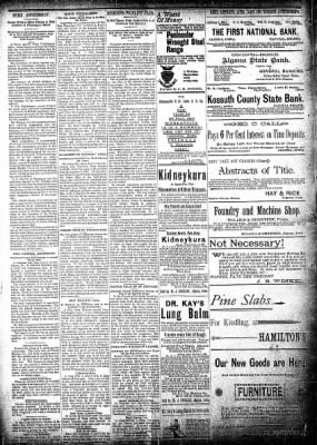 The Algona Republican from Algona, Iowa on February 5, 1896 · Page 6