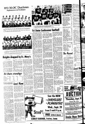 The Sioux County Capital from Orange City, Iowa on September 23, 1971 · Page 8