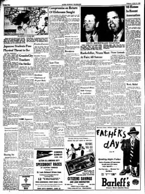 Alton Evening Telegraph from Alton, Illinois on June 10, 1960 · Page 2