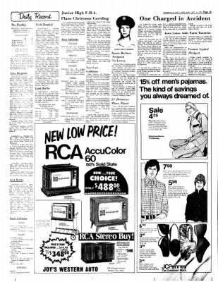 Estherville Daily News from Estherville, Iowa on December 11, 1972 · Page 12