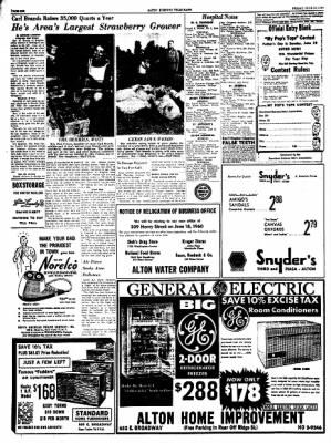Alton Evening Telegraph from Alton, Illinois on June 10, 1960 · Page 6