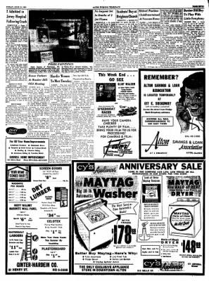 Alton Evening Telegraph from Alton, Illinois on June 10, 1960 · Page 7