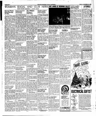 Ukiah Dispatch Democrat from Ukiah, California on December 22, 1939 · Page 4