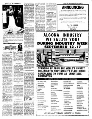 The Algona Upper Des Moines from Algona, Iowa on September 15, 1966 · Page 7