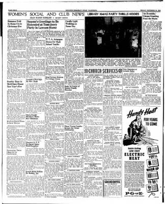 Ukiah Dispatch Democrat from Ukiah, California on December 29, 1939 · Page 4
