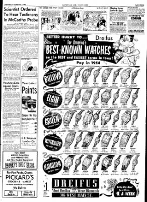 The Courier News from Blytheville, Arkansas on December 9, 1953 · Page 3