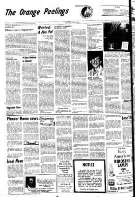 The Sioux County Capital from Orange City, Iowa on October 21, 1971 · Page 6