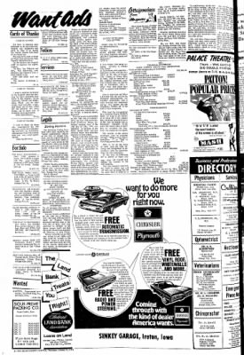 The Sioux County Capital from Orange City, Iowa on October 21, 1971 · Page 8