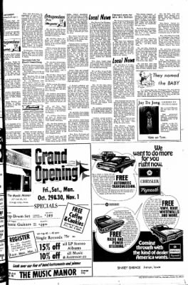The Sioux County Capital from Orange City, Iowa on October 28, 1971 · Page 3