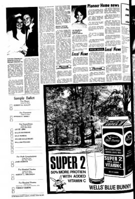 The Sioux County Capital from Orange City, Iowa on October 28, 1971 · Page 4