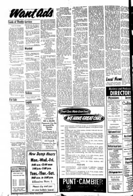 The Sioux County Capital from Orange City, Iowa on October 28, 1971 · Page 10