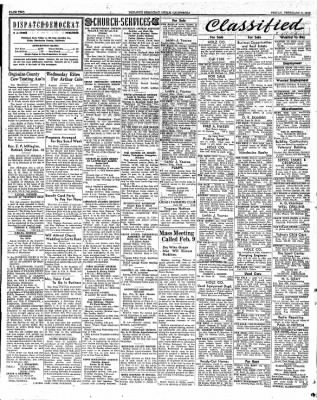 Ukiah Dispatch Democrat from Ukiah, California on February 6, 1948 · Page 2