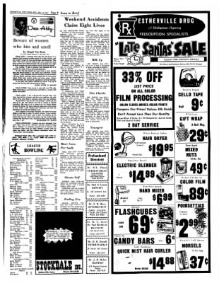 Estherville Daily News from Estherville, Iowa on December 18, 1972 · Page 9