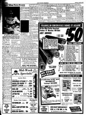 Alton Evening Telegraph from Alton, Illinois on June 13, 1960 · Page 12
