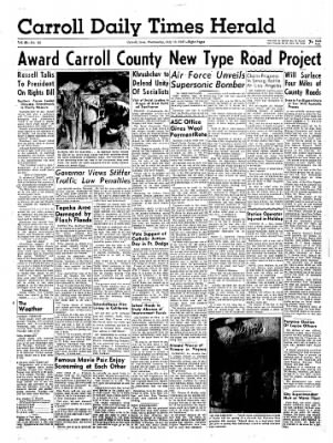 Carrol Daily Times Herald from Carroll, Iowa on July 10, 1957 · Page 9