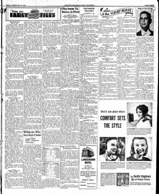 Ukiah Dispatch Democrat from Ukiah, California on February 27, 1948 · Page 3