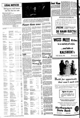 The Sioux County Capital from Orange City, Iowa on December 9, 1971 · Page 6