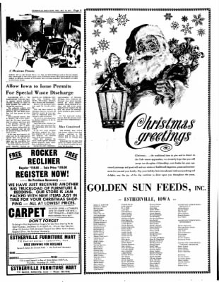 Estherville Daily News from Estherville, Iowa on December 20, 1972 · Page 9