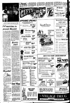 The Sioux County Capital from Orange City, Iowa on December 16, 1971 · Page 2