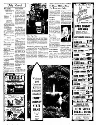 Estherville Daily News from Estherville, Iowa on December 20, 1972 · Page 12