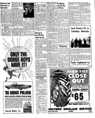 Kossuth County Advance from Algona, Iowa on March 4, 1965 · Page 13