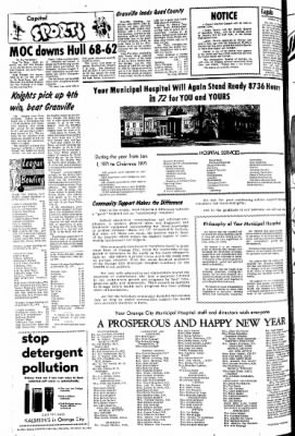 The Sioux County Capital from Orange City, Iowa on December 30, 1971 · Page 6