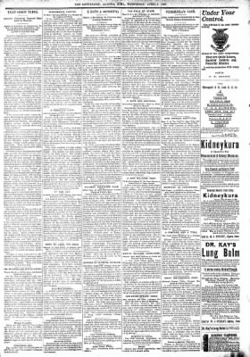 The Algona Republican from Algona, Iowa on April 8, 1896 · Page 6
