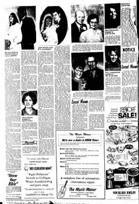 The Sioux County Capital from Orange City, Iowa on January 6, 1972 · Page 4