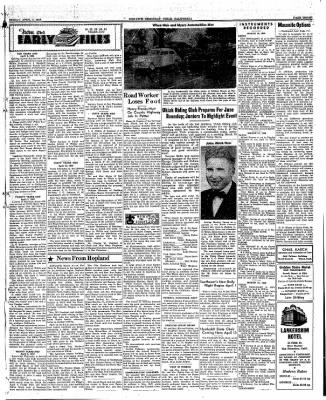 Ukiah Dispatch Democrat from Ukiah, California on April 2, 1948 · Page 3