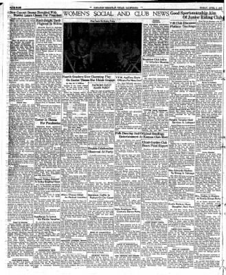 Ukiah Dispatch Democrat from Ukiah, California on April 2, 1948 · Page 4