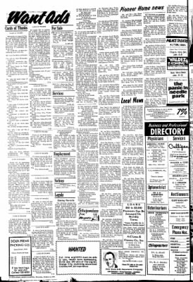 The Sioux County Capital from Orange City, Iowa on January 6, 1972 · Page 8
