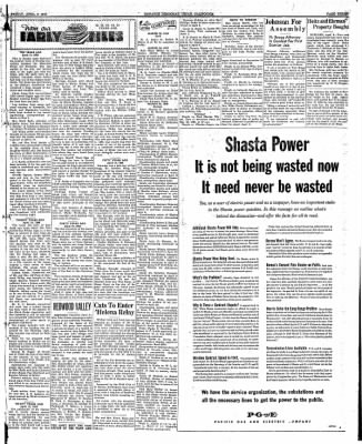 Ukiah Dispatch Democrat from Ukiah, California on April 9, 1948 · Page 3