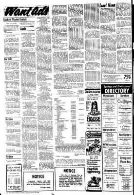 The Sioux County Capital from Orange City, Iowa on January 13, 1972 · Page 10