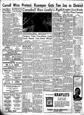 Carrol Daily Times Herald from Carroll, Iowa on July 13, 1957 · Page 2